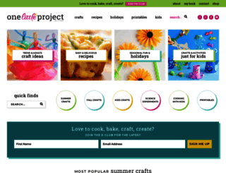 onelittleproject.com screenshot