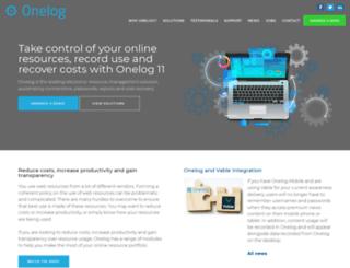 onelog.com screenshot