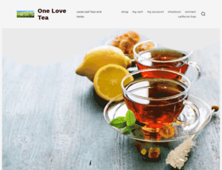 onelovetea.com screenshot