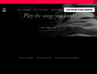 oneminutemusiclesson.com screenshot