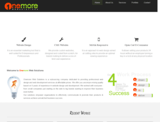 onemorewebsolutions.com screenshot