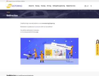 onemotoring.com.sg screenshot