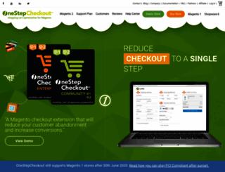 onepagecheckout.com screenshot
