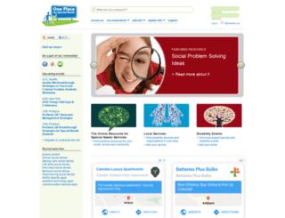 oneplaceforspecialneeds.com screenshot