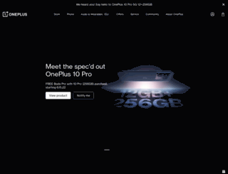 oneplus.com screenshot