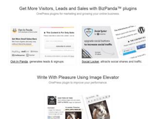 onepress-media.com screenshot
