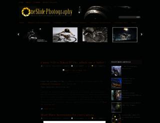 oneslidephotography.com screenshot