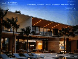 onesothebysrealty.com screenshot