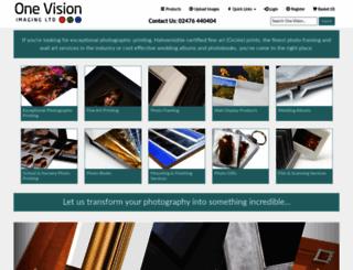 onevisionimaging.com screenshot