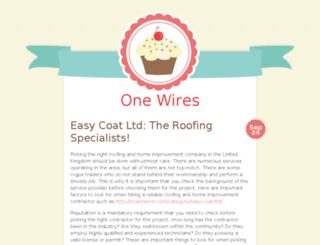 onewires.com screenshot