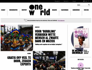 oneworld.nl screenshot