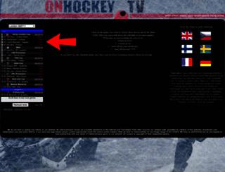 Onhockey Tv Screenshot
