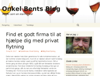 onkel-bents-blog.dk screenshot