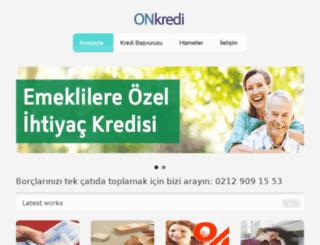 onkredi.com screenshot