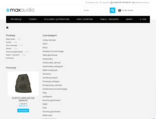 onkyo.pl screenshot