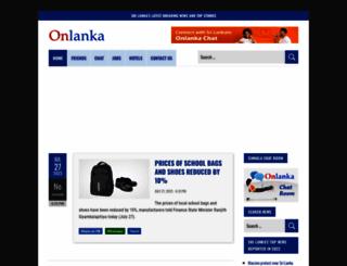 onlanka.com screenshot