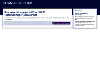 online-business.bankofscotland.co.uk screenshot