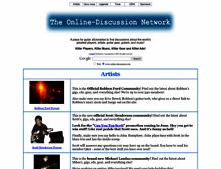 online-discussion.com screenshot