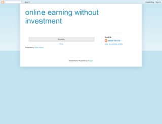 online-earning-without-investment.blogspot.com screenshot