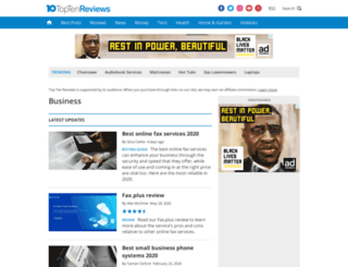 online-file-sharing-services-review.toptenreviews.com screenshot