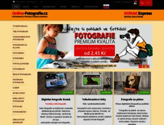 online-fotografie.cz screenshot