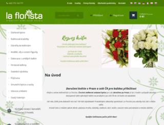online-kvetiny.cz screenshot