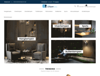 online-lampen-winkel.nl screenshot