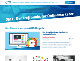 online-marketing-tag.de screenshot