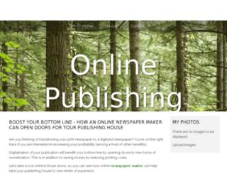 online-publishing.bravesites.com screenshot