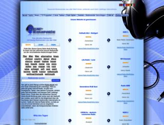 online-radioportal.de screenshot