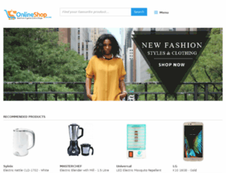 online-shop.com.ng screenshot