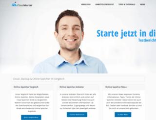 online-speicher.info screenshot