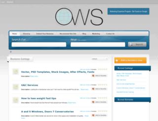online-webservices.co.uk screenshot