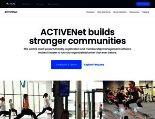 online.activenetwork.com screenshot