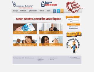 online.amerikankultur.org.tr screenshot