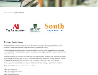 online.argosy.edu screenshot
