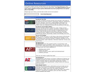 online.lancasterlibraries.org screenshot