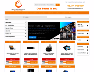 online.nicheofficesolutions.co.uk screenshot
