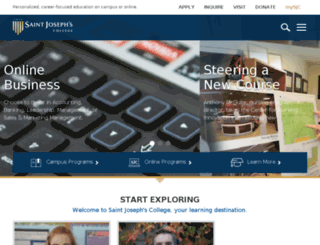 online.sjcme.edu screenshot