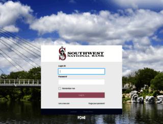 online.southwestnb.com screenshot