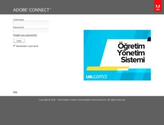 online.ue.com.tr screenshot