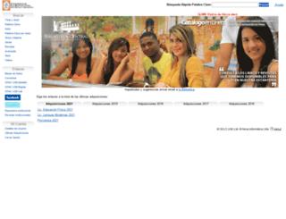 online.usbctg.edu.co screenshot