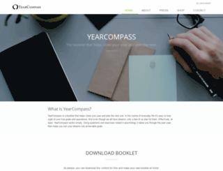 online.yearcompass.com screenshot