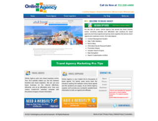 onlineagency.com screenshot