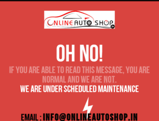 onlineautoshop.in screenshot