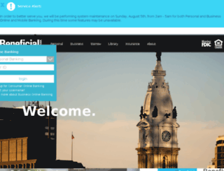onlinebank.conestogabank.com screenshot