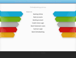 onlinebanking.com.au screenshot