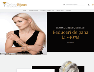 onlinebijoux.ro screenshot