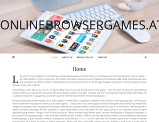 onlinebrowsergames.at screenshot