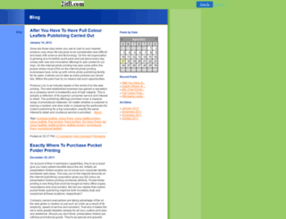 onlinebusinesscards.2itb.com screenshot